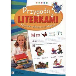 Przygoda z literkami. Książeczka edukacyjna z naklejkami (opr. broszurowa)