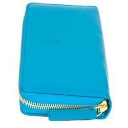 Portfel skórzany Portofino niebieski