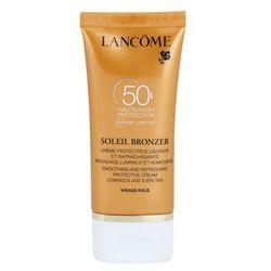 Lancome Soleil Bronzer krem do opalania przeciw starzeniu skóry SPF 50 + do każdego zamówienia upominek.