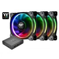 Thermaltake Riing Plus 14 RGB TT Premium Edition 3 Pack (3x140mm, LNC, 1400 RPM)