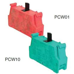 Styk 1NO, złącze sprężynowe PCW10