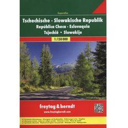 Czechy i Słowacja atlas 1:150 000 Freytag & Berndt