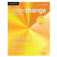 Interchange Intro A Full Contact with Online Self-Study and Online Workbook