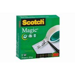 SCOTCH Taśma klejąca MAGIC w pudełku 810, 19mm x 10m