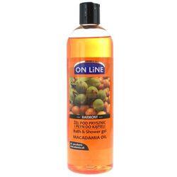 On Line Harmony Żel pod prysznic i płyn do kąpieli Macadamia Oil 500 ml
