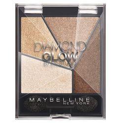 Maybelline Diamond Glow poczwórne cienie do powiek nr2 Coral Drama