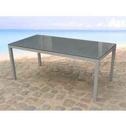 Stół ogrodowy granit i stal - stół 180cm - TORINO