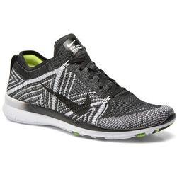 Buty sportowe Nike Wmns Nike Free Tr Flyknit Damskie Czarne 100 dni na zwrot lub wymianę