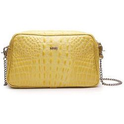 Torebka Croco Bag żółta