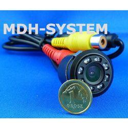 Kamera samochodowa, kamera cofania, MINIATUROWA, DZIEŃ/NOC, uniwersalna, 8 diod IR, 8IR-81508005