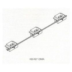 Zestaw wzorników do zawiasów niewidocznych Kubica Koblenz KB-K6700