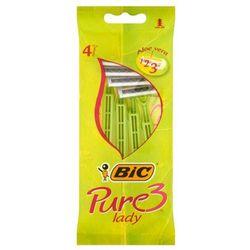 Maszynka do golenia Pure3 Lady 4 sztuki