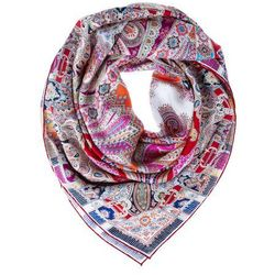 Roeckl NORDIC FLOWER Chusta multicoloured/granat