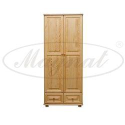 Szafa drewniana 2D nr5 wieszak/półki S80