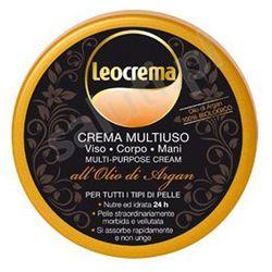 Leocrema - arganowy krem do ciała, rąk oraz twarzy z kwasami omega 3, wit. E i A (150 ml)