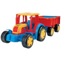 Gigant traktor z przyczepą 102cm Wader