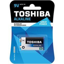TOSHIBA Bateria Alkaline 9V 6LF22 TOSHIBA 9V ALKALINE 6LF22