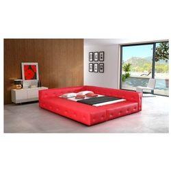 Łóżko tapicerowane BARON 180/200 guziki tapicerowane