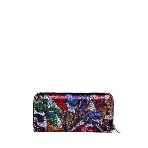 45d274a68044f Portfel w motyle z motywem mozaiki - Franco Bellucci - porównaj ...