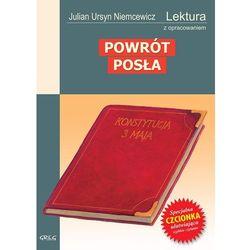 POWRÓT POSŁA LEKTURA WYDANIE Z OPRACOWANIEM (opr. miękka)