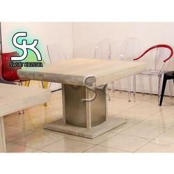 ST02 Ekskuzywny Dębowy Stół olejowany 116x116