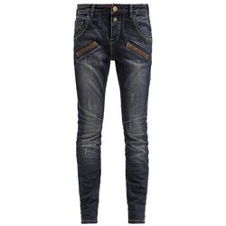 Mos Mosh JAMIE PASPEL Jeansy Relaxed fit blue denim