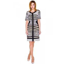 Sukienka z ozdobnym suwakiem - Margo Collection
