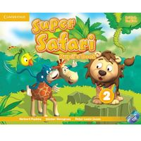 Super Safari Level 2 Pupil's Book With DVD ROM*natychmiastowawysyłkaod3,99 (opr. miękka)