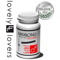 Maxilong 60 kaps. tabletki powiększające penisa