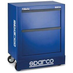 Szafka warsztatowa Sparco - z 2 szufladami