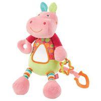 Zabawka FEHN River Gang Hipopotam wibrująca z lusterkiem