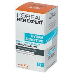 Loreal Paris Men Expert Nawilżajacy krem do twarzy dla mężczyzn Hydra Sensitive 25+ 50 ml