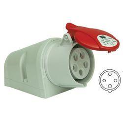 GNIAZDO 32A 4P 380V IP44