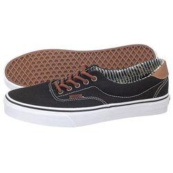 c47891d777 buty vans era 59 suede black leather brown - porównaj zanim kupisz