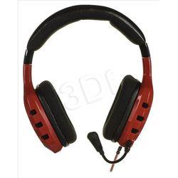 Słuchawki z mikrofonem OZONE RAGE ST - czerwone