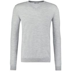 Selected Homme SHDTOWER Sweter light grey melange