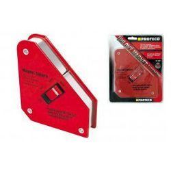 PROTECO Kątownik magnetyczny spawalniczy 130 x 152 x 38 mm z wyłącznikiem 42.04-444 (ZNALAZŁEŚ TANIEJ - NEGOCJUJ CENĘ !!!)