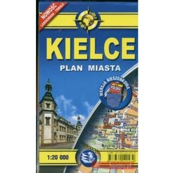 Kielce. Paln miasta 1:20 000 (opr. broszurowa)