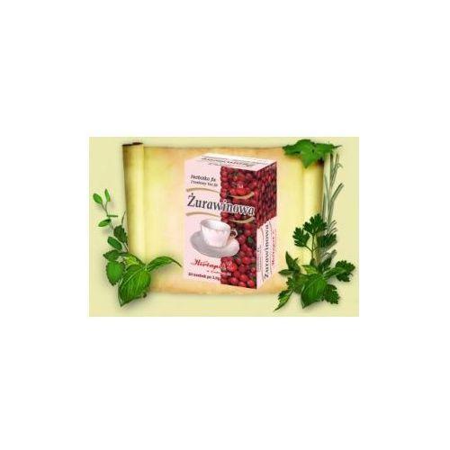 Herbatka Żurawinowa Fix