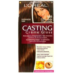 Loreal Paris Casting Creme Gloss Farba do włosów bez amoniaku Czekolada nr 535