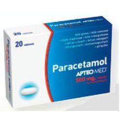 Paracetamol APTEO MED, 500 mg, 20tabletek