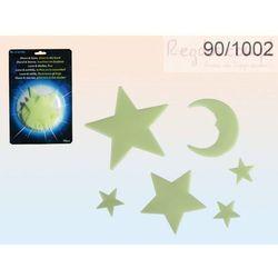 Fluorescencyjne gwiazdki GLOW 15szt