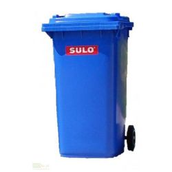 Pojemnik mobilny na odpady 240 L - niebieski SULO