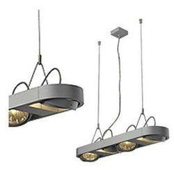 LAMPA wisząca AIXLIGHT R LONG 111 159074 Spotline aluminiowa OPRAWA LISTWA srebrnoszary