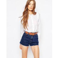 M.i.h Jeans Scallop Trim Shirt - White