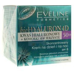 Eveline New Hyaluron Drugiej Generacji 50+ Krem-serum liftingujšcy na dzień i noc 50ml