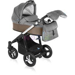 Wózek wielofunkcyjny Husky Lupo Baby Design (beżowy + winter pack)
