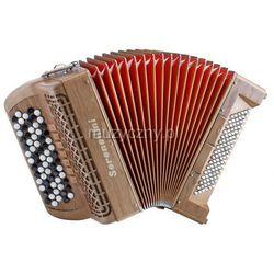 Serenellini 373 W Cherry 37(67)/3/7 96/4/2 akordeon guzikowy (wykończenie drewniane) Płacąc przelewem przesyłka gratis!