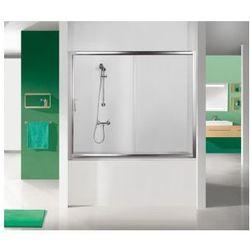 SANPLAST drzwi nawannowe TX5 150 wnękowe szkło CR (parawan) D2-W/TX5b-150 600-271-1550-38-371