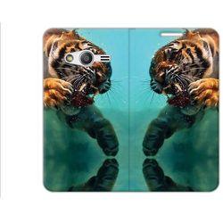 Flex Book Fantastic - Samsung Galaxy Trend 2 Lite - pokrowiec na telefon - tygrys